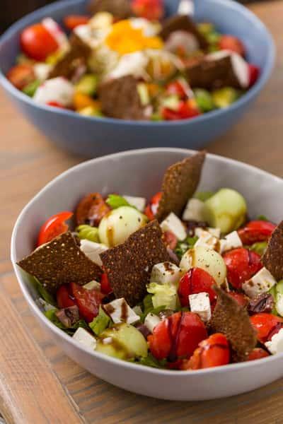 la feta salad