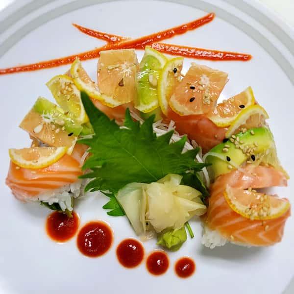 Sake Salmon Roll