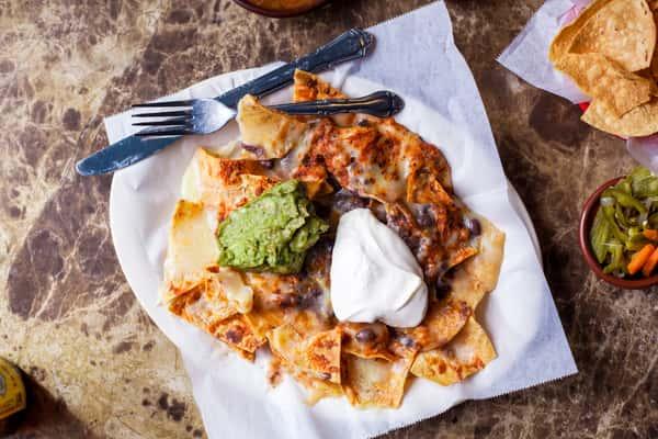 half nachos