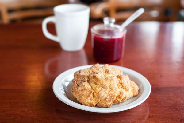 cream scone