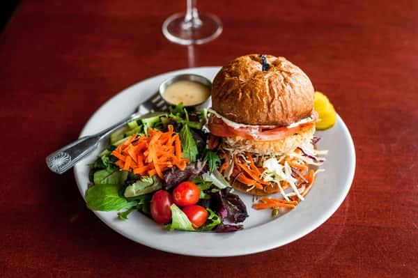 Seattle Salmon Burger