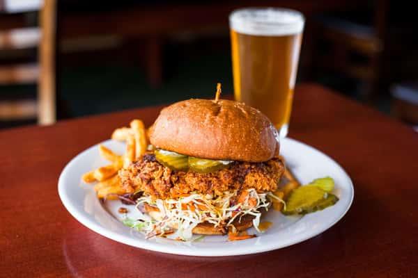 Nashville Crispy Chicken Sandwich