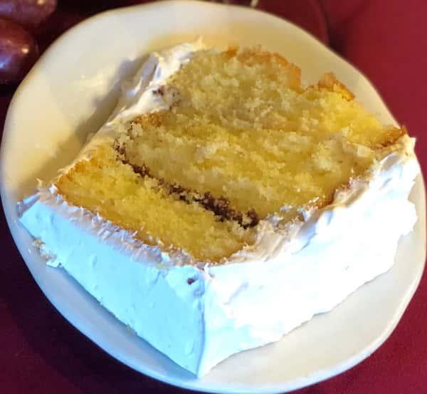 V's Homemade Rum Cake