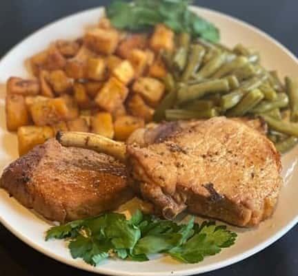 Thursday: Pork Chops