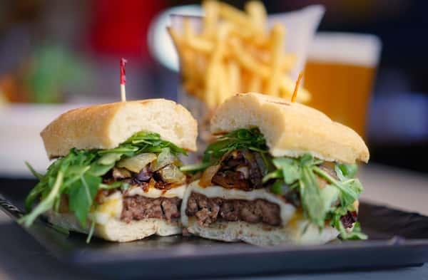 kobe beef mushroom burger