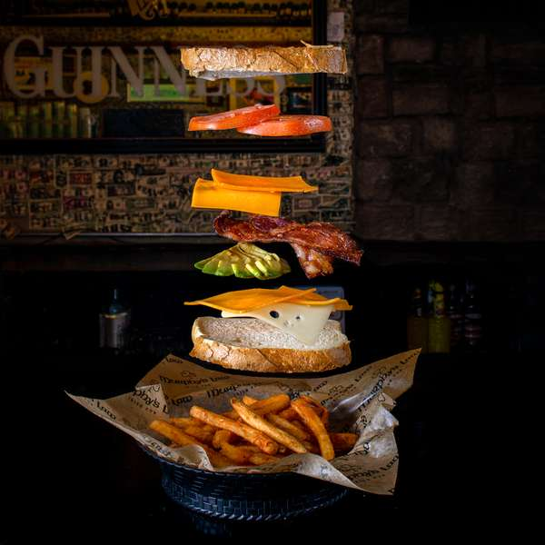 *Murphy's Stuffed Grilled Cheese