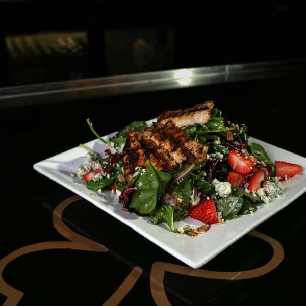 Seasonal Fruit Grilled Chicken Salad