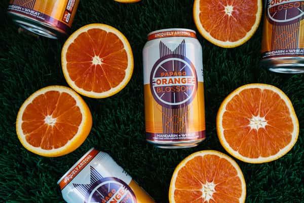 Beer - Orange Blossom Cans