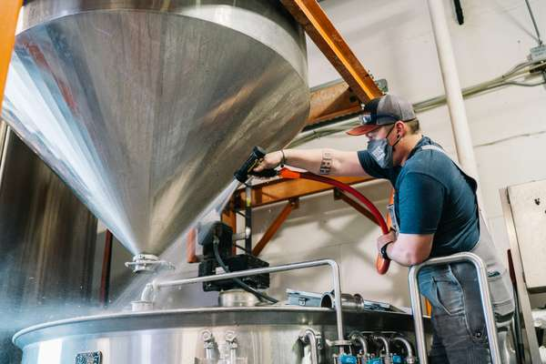 brewery working