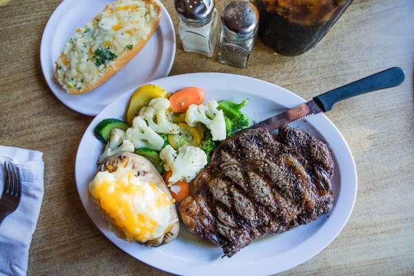 Jaspers Famous Rib-Eye Steak