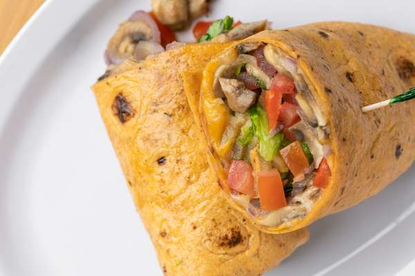 Garden Vegetarian Wrap
