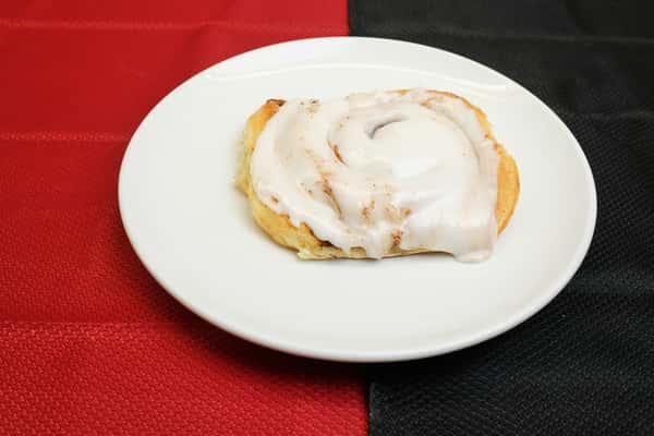 Frosted Cinnamon Bun
