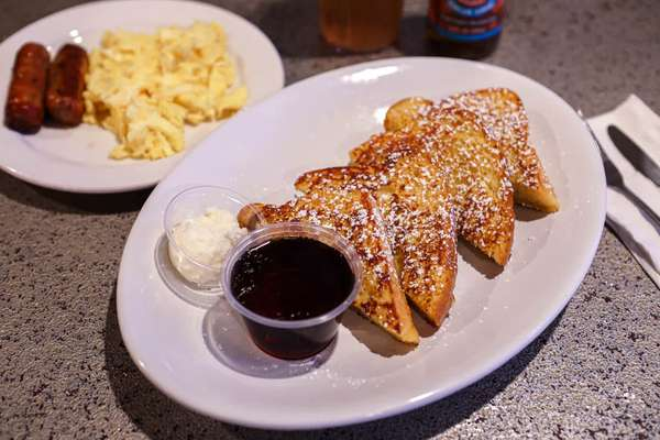 Manhattan Breakfast French Toast or Waffle