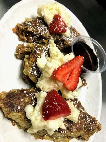 Carrot cake french toast