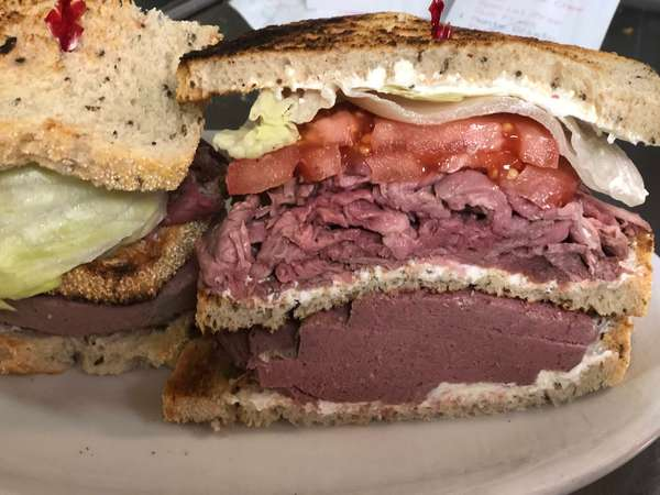 29. Liverwurst, roast beef, cream cheese
