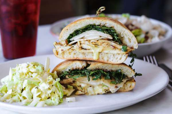 Rosemary Chicken Sandwich
