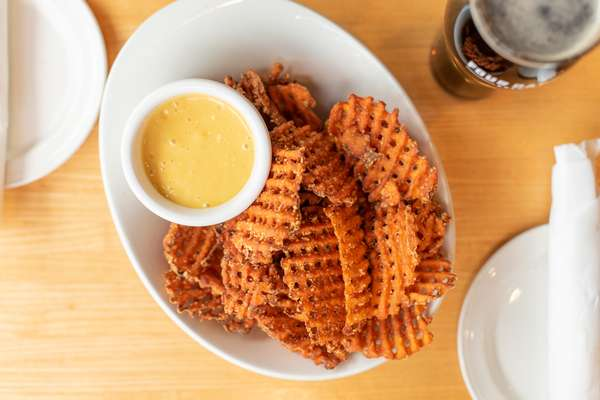 sweet waffle fries