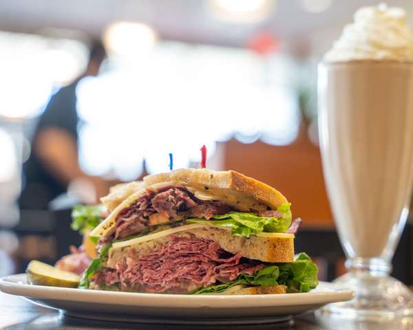 Corned Beef & Pastrami With Swiss