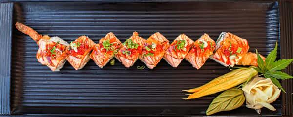 orenji dragon sushi