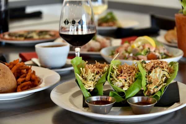 Asian Lettuce Wraps (490 Calories)