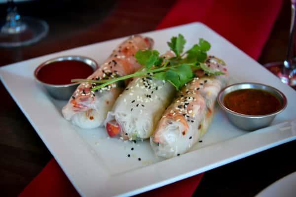 Starter - Lobster Spring Rolls (120 Calories per roll)