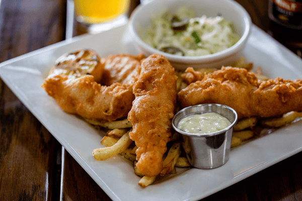 Beer Battered Fish & Chips