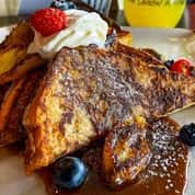 Bananas Foster French Toast (598 cal)
