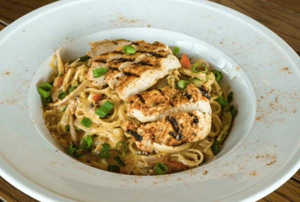 Cajun Chicken Pasta (1180 cal.)