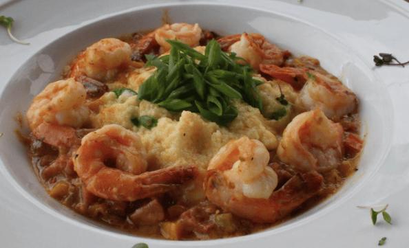 Shrimp & Jalapeno Smoked Gouda Grits (789 cal.)
