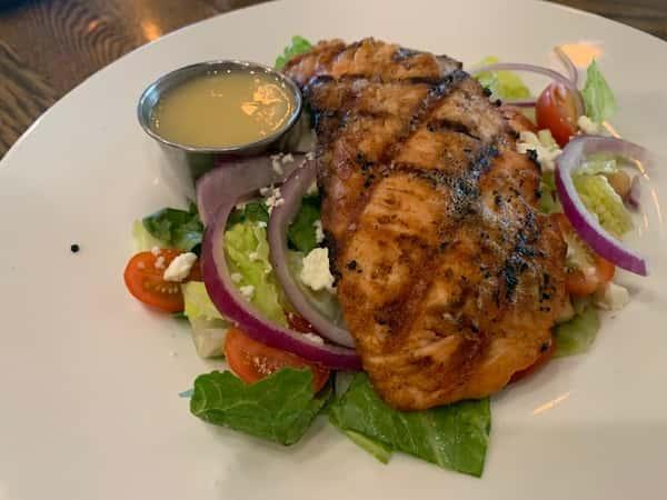Salad - Grilled Salmon Salad (420 Calories)