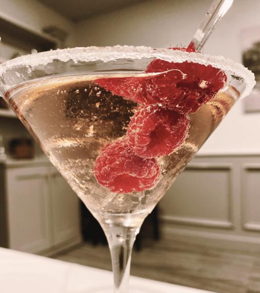 Liz's Raspberry Martini