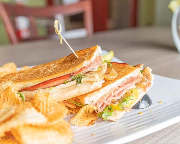 Grilled Italian Sandwich