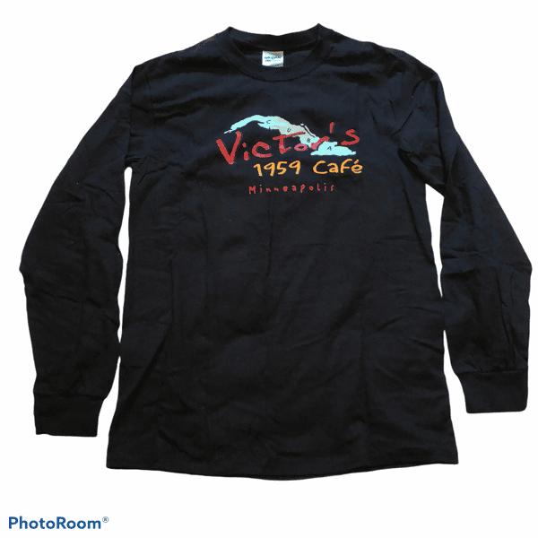Black Long-sleeved (¿Got Yuca?) T-shirt