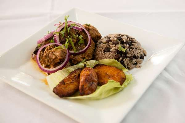 rices and plantain