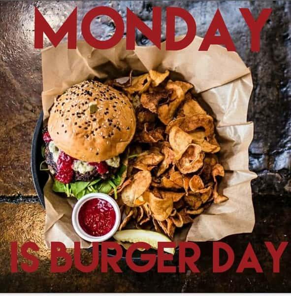 Monday Burger Day