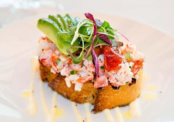 Compressed Maine Lobster Salad