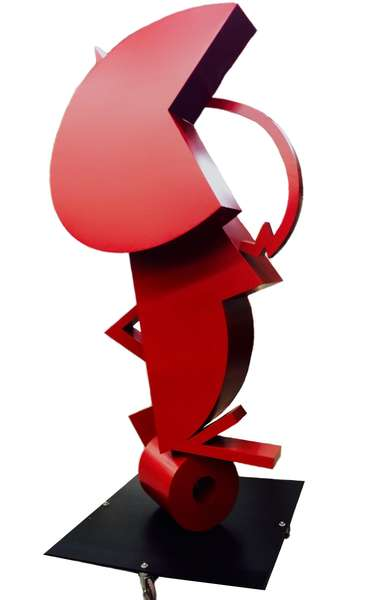 Giant Red Sculpture 1.1