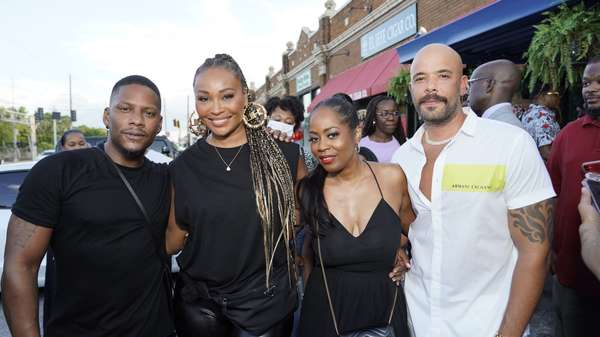 Grand opening with Cynthia Bailey