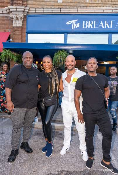 The Official Breakfast Boys and Cynthia Bailey