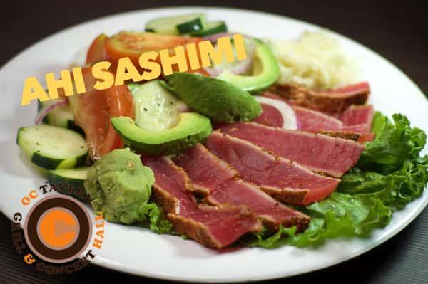 Ahi Sashimi