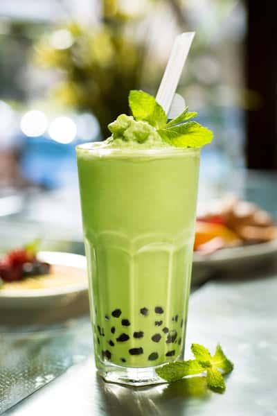Organic Green Tea Boba*