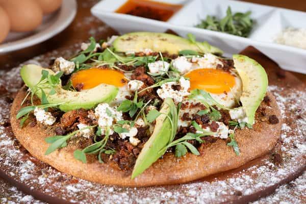 Pizza Huevos Rancheros