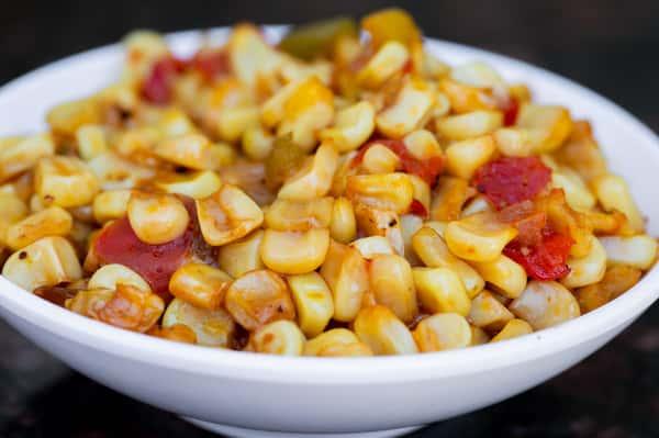 Maque Choux Fried Corn