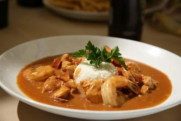 Jambalaya (Chicken, Sausage, and Shrimp)