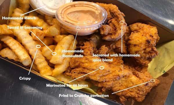 Chicken Strips &Fries