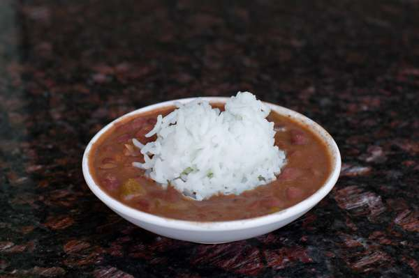 Red Beans w/ Sausage & Rice