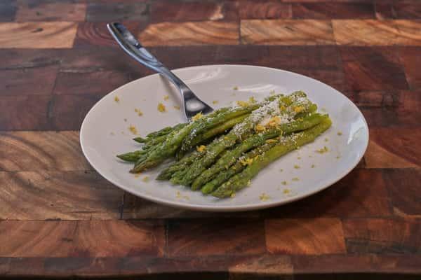 Lemon & Garlic Asparagus