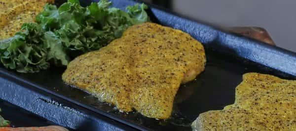Lemon Pepper Chicken Cutlet