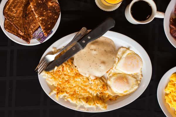 Chicken Fried Steak & Eggs*