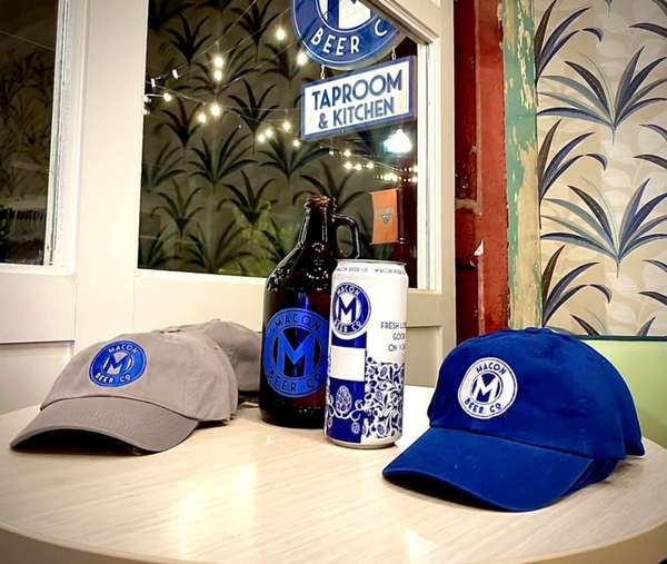 hat and bottle